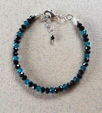 Spinel and London Blue Topaz with 925 silver