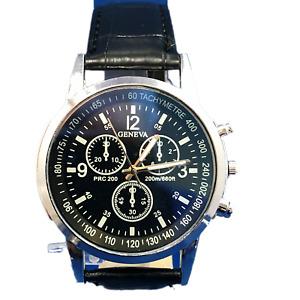 Mens Stylish Quartz Wristwatch - Choice Of Colours - NEW UK Stock - Great Value