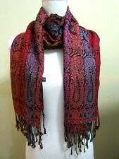 Germany Scarf Shawl 4You Multicolor Gorgeous with Fringe Trendy Romantic 28x74