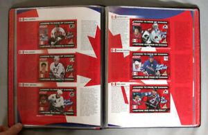 1997-98 NHL Kraft Hockey Full 50/50 Cards Set + Album