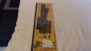 HO Scale AHM Code 100 Brass #4 Right Hand Switch & Switch Machine #2501 BNOS