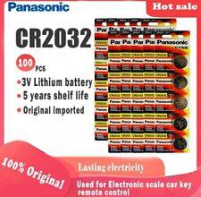 5 Piles CR 2032 Panasonic