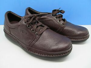 Propet Mens Villager M4070 Pebbled Leather Orthotics Size 12 (X 3E ) Brown