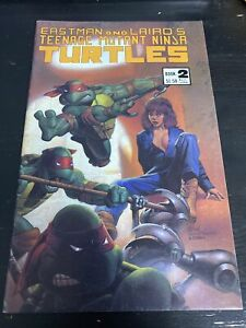 Eastman and Laird's Teenage Mutant Ninja Turtles Book 2 Mirage Studios