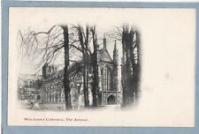 WINCHESTER CATHEDRAL, THE AVENUE - Unposted Antique Undivided Back Postcard