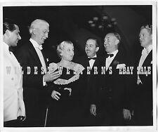 JACK WARNER Frank Capra WALT DISNEY Candid USC Trojans Photo VINTAGE ORIGINAL