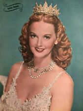 Lucille Bremer, Full Page Vintage Pinup