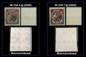 Rumänien 1952 Mi.1354 X+Y @  used WZ 9 ! Fünfjahresplan,Kohle,Bergarbeiter RAR
