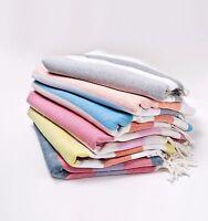NEW * BUTICA Turkish Towel Fouta Peshtemal  Hammam Beach Towel Throw *12 Styles*