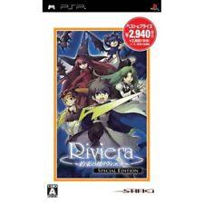 Used PSP Riviera: Yakusoku no Chi Special Edition Japan Import