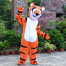 Halloween Tiger Mascot Costume Cosplay Party Xmas fancy Dress Outfits Adult size