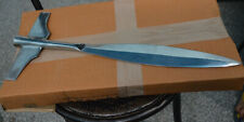 """VIKING Winged Spear Head 16"""" overall high carbon steel spear"""