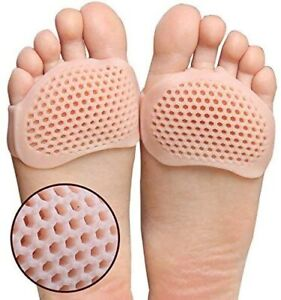 DM 2 x Gel Metatarsal Sore Ball of Foot Pain Cushions Pads Insoles FREE POSTAGE