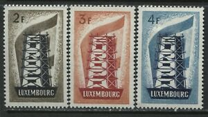 Luxembourg 1956 Europa set mint o.g. hinged