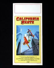 CALIFORNIA SKATE locandina poster Christian Slater Gleaming the Cube AW62