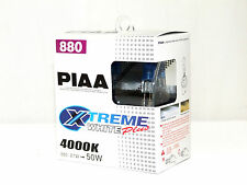 Piaa 4000K 27w=50w XTreme White 880/H27W/1 Halogen Fog Light Bulbs