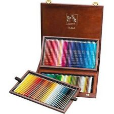 Caran D'ache Pablo Coloured Pencil 120 Colour Wooden Box Set