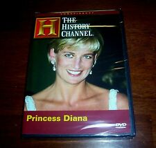 PRINCESS DIANA Conspiracy Death Tragic Car Accident History Channel DVD RARE NEW