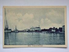 ZARA da barcagno DALMAZIA navi AK vecchia cartolina