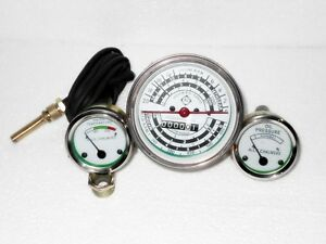 Allis Chalmers Tachometer Oil Temperature fits AC D14 D15 D17 Gas LP