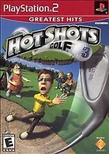 Hot Shots Golf 3 (RED OR BLACK LABEL) (PS2), Excellent PlayStation2, Playstation