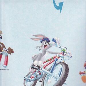 Luxury Looney Tunes, Bugs Bunny, Warner, Kids Bedroom Wallaper by Rasch 223415-2