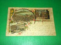 Cartolina Ricordo di Napoli - Vedute diverse 1900