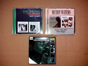 Jazz-Blues CD-Sammlung - 9 Alben Ron Carter, Thelonious Monk... (7 Discs) Top!