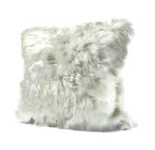 Suri Alpaca Handmade Alpaca Fur Pillow Cover with Fur on ONE Side 20x20