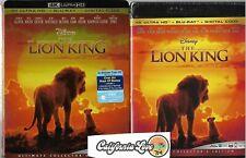 THE LION KING 4K ULTRA HD + BLU-RAY 2-DISC 2019 LIVE DISNEY ✔☆MINT☆✔NO DIGITAL
