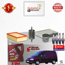 Kit de Mantenimiento Filtros Aceite Bujías Peugeot Expert 2.0 16V