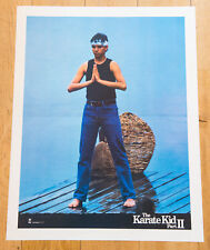 THE KARATE KID PART 2 Affiche cinéma 60X80 AVILDSEN, RALPH MACCHIO