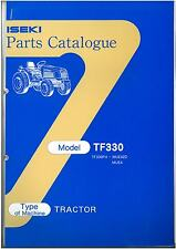 ISEKI TRACTOR TF330 PARTS MANUAL