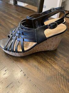 Franco Sarto women's size 8.5  wedge sandals