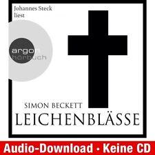 Hörbuch-Download (MP3) ★ Simon Beckett: Leichenblässe (ungekürzt)
