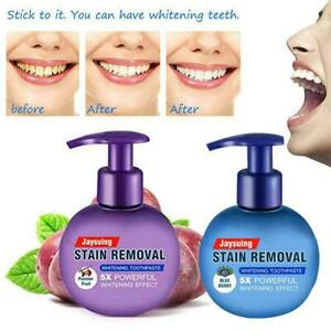Natural Intensive Stain Remover Whitening Toothpaste Bleeding Fight Fresh