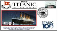 RMS TITANIC 100th ANNIVERSARY OF SINKING SOUV COVER 2