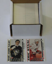 2003-04 Pacific Heads Up Hockey Set (1-136) (Rookies #'d out of 899)