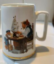 """1985 Vintage Collectible Norman Rockwell Coffee cup. """"For A Good Boy"""""""
