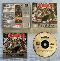 Resident Evil 1 PS1 PS2 PS3 Sony Playstation 1 Complete UK PAL Platinum Edition