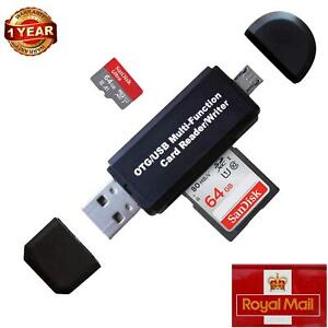 Card Reader For Sd Memory Card Reader High Speed USB OTG Adapter 2.0 Micro Sdxc