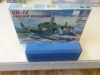 Italeri UH-1C Gunship Helicopter Model Kit 1/72