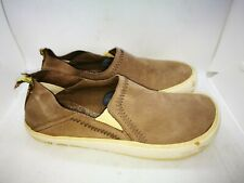 Merrell brown leather casual trainers size 9