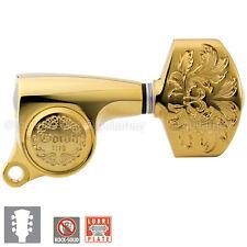 NEW Gotoh SGS510Z-A60LX Luxury Mode L3+R3 SET Tuning Keys 1:18 Ratio 3x3 - GOLD