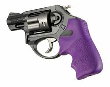 Hogue Tamer Grip for Ruger LCR Textured Rubber Finger Grooves Purple # 78026 New