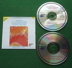 Haydn 5 London Symphonies Austrian Radio Symphony Orch Milan Horvat + 2 x CD