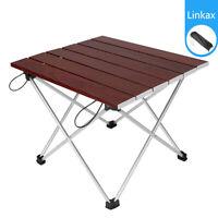 Klapptisch Campingtisch Beistelltisch Kaffeetisch Aluminium Rechteck Picknick DE