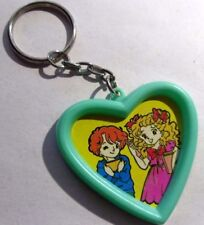 Heart-shaped Picture Frame Keychain