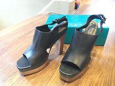 Marni for H&M block heel shoes BNWB UK 8 EUR 41 US 10 Black