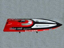 FiberGlass G30C 30CC Engine Gas RC Racing Speed Boat Monohull ARTR Deep V OG